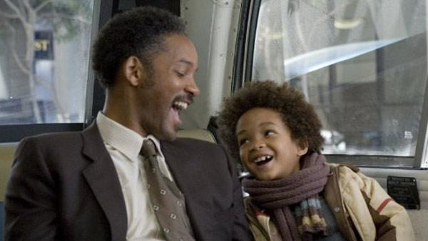 Will Smith and Jaden Smith appear in a still from The Pursuit of Happyness. - Provided courtesy of Columbia Pictures/Zade Rosenthal