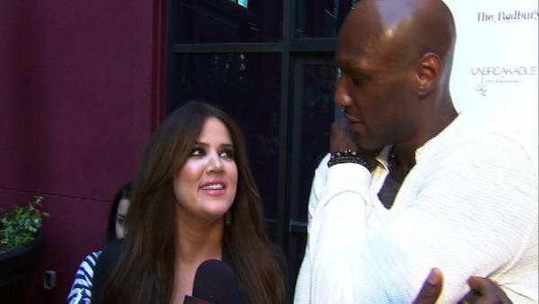 Khloe Kardashian and Lamar Odom talk new show, cameras around seven days a week, 12 to 18 hours a day - Provided courtesy of OnTheRedCarpet.com