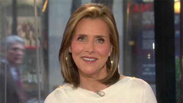 Meredith Vieira appears on the Today show in 2011. - Provided courtesy of NBC