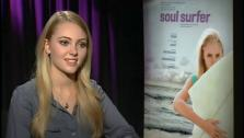 AnnaSophia Robb dishes about her intense training for Soul Surfer and how the film changed her outlook on life. - Provided courtesy of OTRC