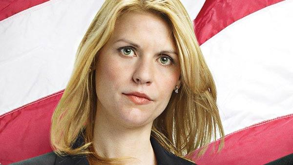 Claire Danes appears in a promotional photo for Homeland. - Provided courtesy of OTRC / Showtime