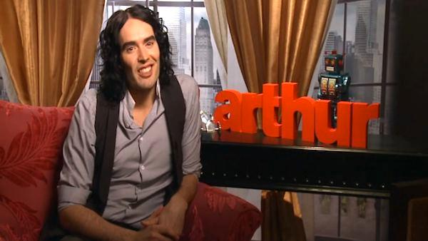 Russell Brand wants to tuck Mirren in bed