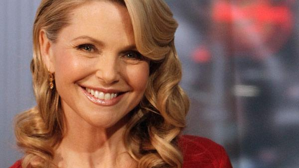 Christie Brinkley talks about her Broadway debut in the musical Chicago on Good Morning America, 4/6/11 on the ABC Television Network. - Provided courtesy of ABC / ABC/Lou Rocco