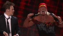 Hulk Hogan surprises James Durbin on American Idol on March 24, 2011. - Provided courtesy of FOX