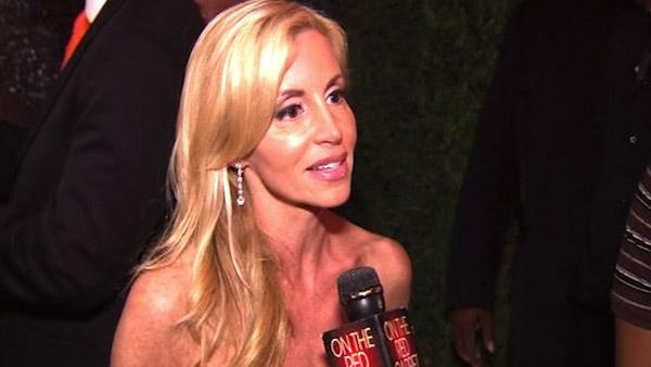 Camille Grammer speaks to OnTheRedCarpet.com about The Real Housewives of Beverly Hills on Oct. 11, 2010. - Provided courtesy of OnTheRedCarpet.com
