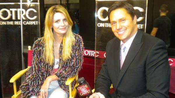 Mischa Barton talks handbags at Reality Rocks