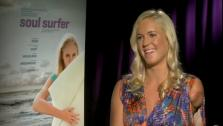 Bethany Hamilton says she hopes to encourage people with her true story portrayed in the film Soul Surfer. - Provided courtesy of OTRC