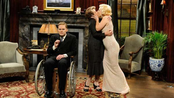 Helen Mirren hosts Saturday Night Live on April 9, 2011. - Provided courtesy of NBC