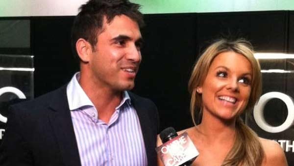 Ali Fedotowsky and Roberto Martinez of The Bachelorette talk about wedding plans at the Reality Rocks Expo. - Provided courtesy of OTRC