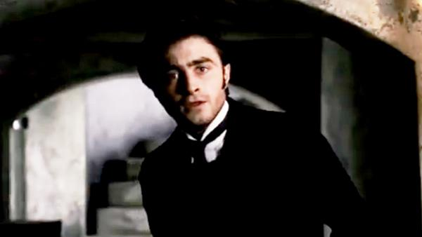 Daniel Radcliffe appears in a still from The Lady In Black trailer. - Provided courtesy of Momentum Pictures