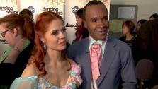 Sugar Ray Leonard speaks after Dancing With the Stars season 12s third results show Tuesday, April 12, 2011.