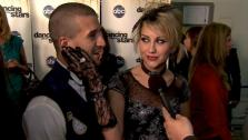 Chelsea Kane speaks after Dancing With the Stars season 12s third results show Tuesday, April 12, 2011.