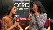 On The Red Carpet host Rachel Smith interviews Toccara at the Reality Rocks Expo on April 10, 2011.