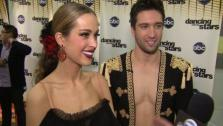 Petra Nemcova speaks after Dancing With the Stars season 12s third results show Tuesday, April 12, 2011. - Provided courtesy of OTRC