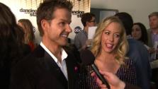 Kendra Wilkinson speaks after Dancing With the Stars season 12s third results show Tuesday, April 12, 2011. - Provided courtesy of OTRC