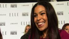 Jordin Sparks tells OnTheRedCarpet.com at the 2011 Elle Womken in Music event in Los Angeles how excited she is to open for New Kids on the Block and the Backstreet Boys. - Provided courtesy of none / OnTheRedCarpet.com