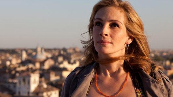 Julia Roberts appears in a scene from the 2010 movie 'Eat Pray Love.'