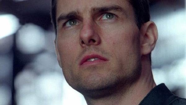 Tom Cruise appears in a still from his 2002 film, 'Minority Report.'
