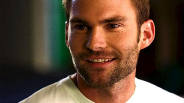 Sean William Scott appears in a still from his 2008 film, Role Models. - Provided courtesy of Universal Pictures
