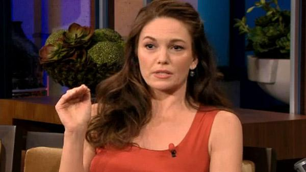 Diane Lane appears on The Tonight Show with Jay Leno on Wednesday, April 13, 2011. - Provided courtesy of NBC