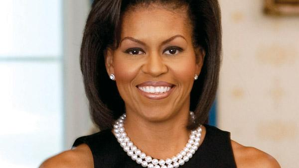 Michelle Obama appears in an official photo from the White House website. - Provided courtesy of WhiteHouse.Gov