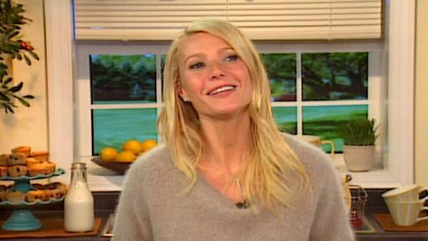 Gwyneth Paltrow talks cookbook