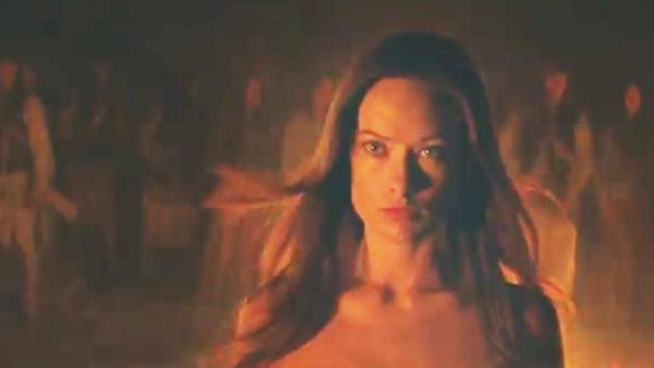 Olivia Wilde appears in a still from the trailer for Cowboys and Aliens. - Provided courtesy of Universal Pictures