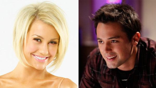 Chelsea Kane appears in a promotional photo for season 12 of Dancing With The Stars./Stephen Colletti appears in a still from One Tree Hill. - Provided courtesy of ABC / ABC/Bob DAmico/WB