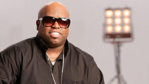 Cee Lo Green in a 2011 promotional photo for The Voice. - Provided courtesy of NBC