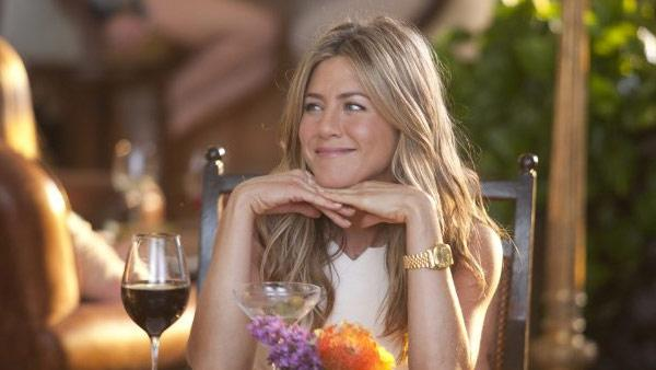 Pictured: Jennifer Aniston appears in a scene from the 2011 movie Just Go With It. - Provided courtesy of Happy Madison Productions