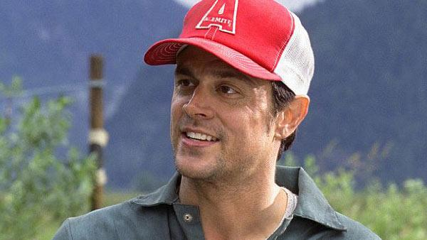 Johnny Knoxville appears in a still from his 2004 film, 'Walking Tall.'