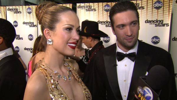 Petra Nemcova talks after 'DWTS' results show