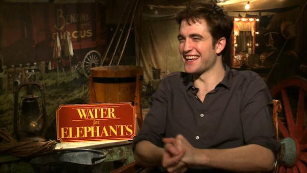 Pattinson on 'Elephants' and 'Twilight'