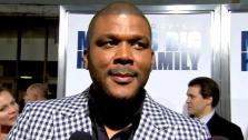 Tyler Perry talks to OnTheRedCarpet.com at the premiere of Madeas Big Happy Family. - Provided courtesy of OTRC