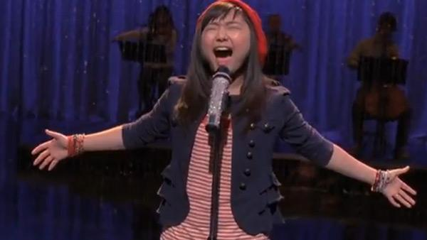 Charice appears on Glee on an episode that aired on April 19, 2011. - Provided courtesy of FOX