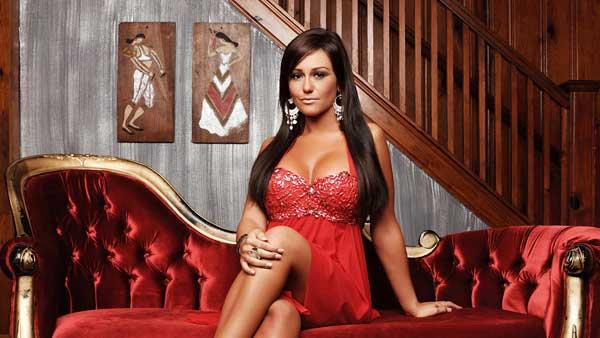 Jwoww appears in a promotional photo for Jersey Shore. - Provided courtesy of MTV/Emily Shur