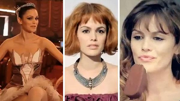 Rachel Bilson plays an art student, a ballerina and a fashion model in three short films promoting Magnum ice cream bars, which were directed by Chanel designer Karl Lagerfeld. - Provided courtesy of youtube.com/user/mymagnum