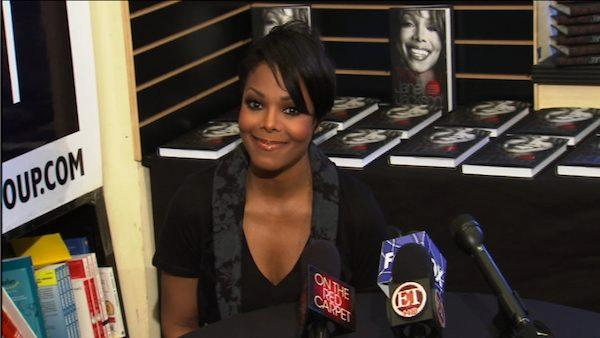 Janet Jackson tells OnTheRedCarpet.com what she hopes readers will gain from reading her new book, True You: A Journey to Finding and Loving Yourself at the signing in West Hollywood on Friday, April 15, 2011. - Provided courtesy of OnTheRedCarpet.com