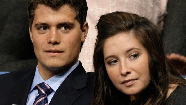 In this Sept. 3, 2008 file photo, Levi Johnston, left, is seen with his girlfriend Bristol Palin at the Republican National Convention in St. Paul, Minn. - Provided courtesy of AP / AP Photo/Paul Sancya