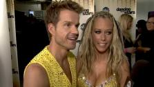 Kendra Wilkinson talks about her Dancing With The Stars week 6 performance.