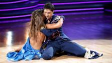 Ralph Macchio and his partner Karina Smirnoff received 24 out of 30 from the judges for their Paso Doble on week six of Dancing With The Stars. - Provided courtesy of OTRC