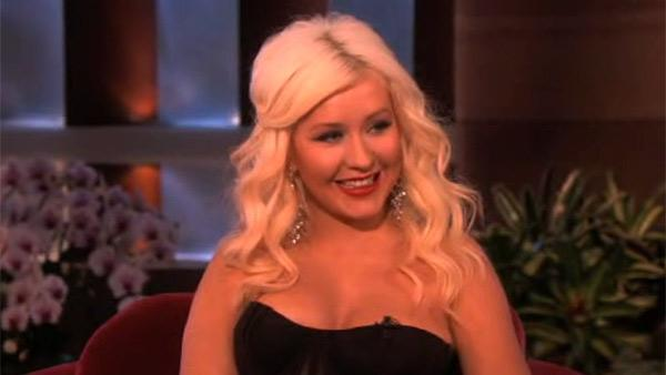 Christina Aguilera appears on The Ellen DeGeneres Show on an episode airing on April 26, to promote her new NBC talent series The Voice, which premieres that day at 9 p.m. ET. - Provided courtesy of Warner Bros. Television