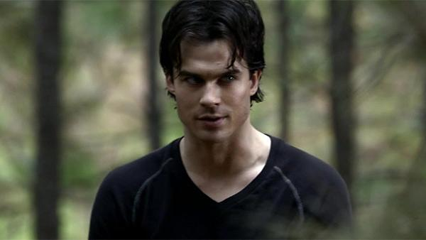 Ian Somerhalder appears in a scene from the CW show The Vampire Diaries. - Provided courtesy of The CW Network
