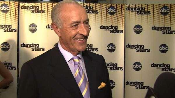 Len Goodman talks to OTRC.com after a live taping of Dancing With The Stars: The Results Show on April 26, 2011. - Provided courtesy of OTRC