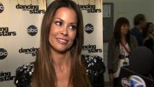 Brooke Burke speaks after the fifth elimination on Dancing With The Stars: The Results Show on April 26. - Provided courtesy of OTRC