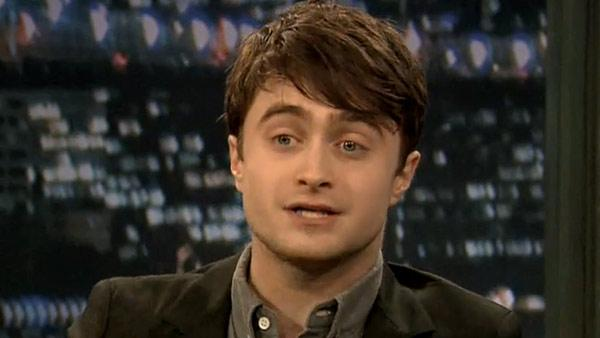 Daniel Radcliffe appears in a still from Late Night with Jimmy Fallon. - Provided courtesy of NBC