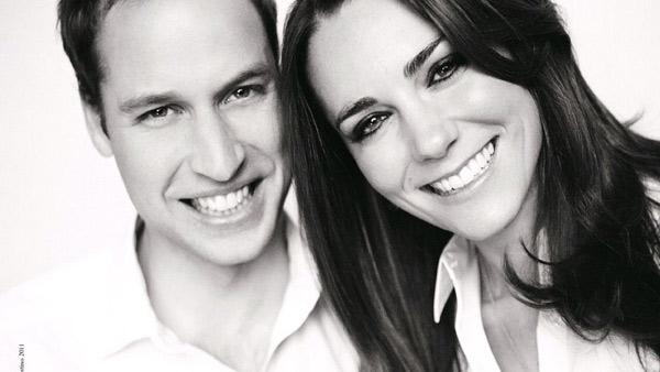 On the eve of the royal wedding, Prince William and Kate released their wedding program, which includes an unseen photo. - Provided courtesy of KABC