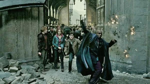 A scene from the 2011 film 'Harry Potter and the Deathly Hallows - Part 2.'