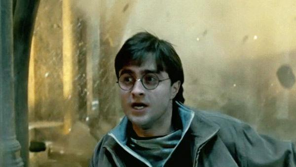 Harry Potter (Daniel Radcliffe) appears in a scene from the 2011 film, 'Harry Potter and the Deathly Hallows - Part 2.'