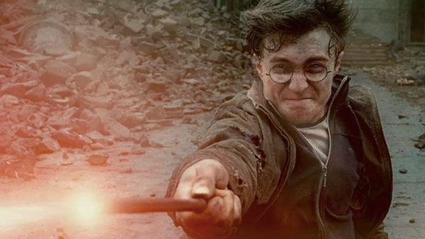 A scene from the 2011 film, 'Harry Potter and the Deathly Hallows: Part 2,' starring Daniel Radcliffe, Emma Watson and Rupert Grint.
